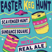 Flying Saucer Draught Emporium Fort Worth presents Easter Keg Hunt With Real Ale