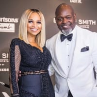 Pat and Emmitt Smith