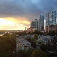 Austin skyline lake