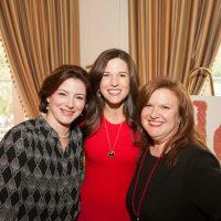 Emily Burguieres Dalicandro, HARC Luncheon Chair 2017; Kristi Breaux, HARC Board Chairman, and Eleni J. Christou, HARC Executive Director.