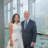 Nicole Katz, Evan Katz at Methodist Hospital