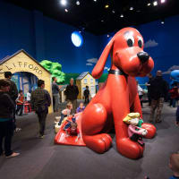 Fort Worth Museum of Science and History presents Adventures with Clifford The Big Red Dog