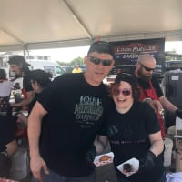Houston Barbecue Festival Wayne Mueller Louie Mueller Rebecca Masson Fluff Bake Bar