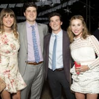Houston, Rienzi Spring Party, April 2017, Maddie Britt, Mark McConn, Scotty Finnegan, Kelli Bunch