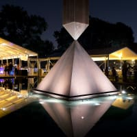 The Rothko Chapel Moonrise Party on the Plaza