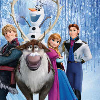 Disney Frozen animated movie