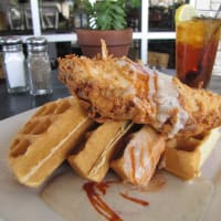 Bread Winners chicken and waffles