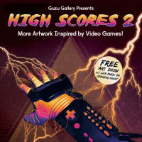 Guzu Gallery presents High Scores 2: More Artwork Inspired by Video Games