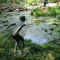 Austin Photo: Places_Arts_Umlauf_Sculpture_Garden_Pond