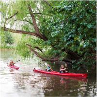 "Buffalo Bayou Kayak Trips ""An Urban Outdoor Experience"" Spring 2013"