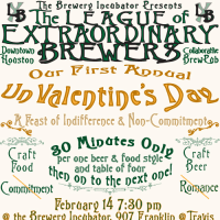 """The League of Extraordinary Brewers' """"#UnValentine"""""""