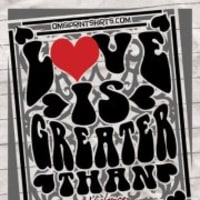 "Art opening reception: ""Love is Greater Than Violence"""