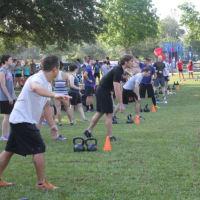"""Bayou City Crossfit presents """"Reps with the Rockets"""""""