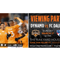 Houston Dynamo v. FC Dallas Official Watch Party
