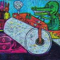 "PrintMatters presents ""Rockin' Rollin' Prints 2013"""