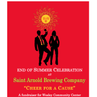 "Wesley Community Center's End of Summer Celebration """"Cheer for a Cause"""
