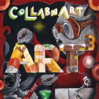 ART3 interactive art experience by collabnart poster