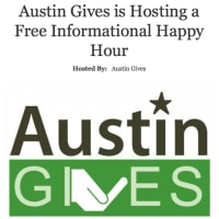 Austin Gives hosting informational happy hour
