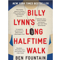 book cover for Billy Lynn's Long Halftime Walk by Ben Fountain