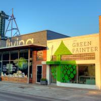 New Living, Green Painter, Rice Village, September 2012
