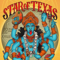 poster for Star of Texas Tattoo Art Revival with Kali