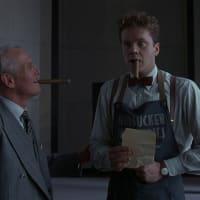Paul Newman and Tim Robbins in Coen Brothers' The Hudsucker Proxy