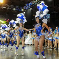 dancers from Brasileiro Carnaval 2013 for Brazilian Mardi Gras