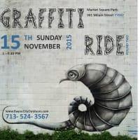 Bayou City Outdoors Graffiti Art & Bike Ride