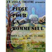 Et Voila Theatre presents Trap for a Lonely Man