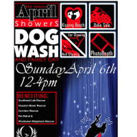 Third Annual April Showers Dog Wash and Family Day