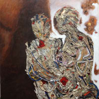 M Squared Gallery art opening reception: Totems Beyond Patriarchy featuring works by Becky Soria