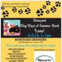 """Boneyard Bash: """"Dog Days of Summer Luau"""" benefiting Houston PetSet"""