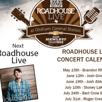 poster for Roadhouse Live presented by KVET
