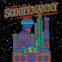 poster for 2014 scootenanny at scoot inn