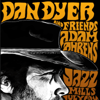 poster for Lamberts July Residency with Dan Dyer