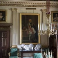 Marble Parlour at Houghton Hall