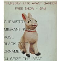 Ornaments in concert with Black Cove, Kosé, Migrant Kids and Chemistry