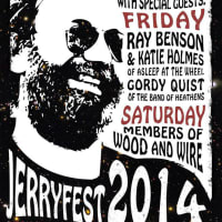 poster fourth annual Jerry Garcia Fest at Threadgills with DeadEye