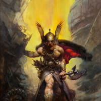Frank Frazetta_fantasy artist_Dark Kingdom