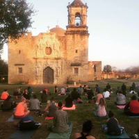 Yoga at San Antonio Missions National Historical Park