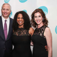 Bobby Tudor, Audra McDonald, Phoebe Tudor at Houston Arts Alliance performance
