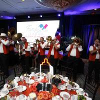 Texas Children's Cancer Center dinner,5/16  Longhorn band