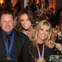 Be An Angel gala 5/16. Roger Clemens, Carmina Zamorano, Debbie Clemens
