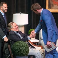 Celebration of Reading 4/16, Evan Sisely, George Bush, J.J. Watt