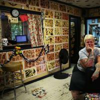 "Deb ""Mom"" Obregon, owner of Mom's Tattoos"