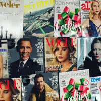 Conde Nast magazine covers December 2015 Vogue GQ Wired Allure W Bon Appetit Traveler
