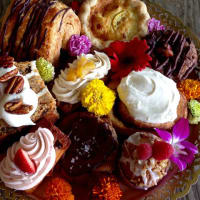 Bribery Bakery pastries treats basket 2015