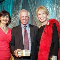 News, Greater Houston Women's Chamber of Commerce Gala, Dec. 2015, Denise Castillo Rhodes, Dr. Robert Robbins, Suzan Deison