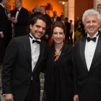 News, MfAH Latin Experience, Nov. 2015 Nayib Nemme; Claudia Hakim; Alex Mor;