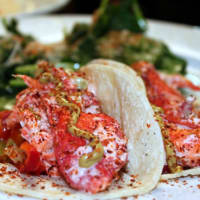 Jonathan's the Rub lobster taco